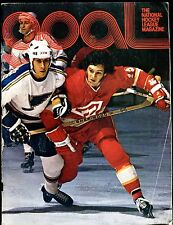 Goal Magazine NHL 1974 VG No ML 012017jhe