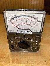 Simpson 160 Multimeter Voltmeter Only Analog Vom Volt Ohm Milliammeter Untested
