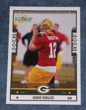 2005 SCORE AARON RODGERS ROOKIE CARD #352