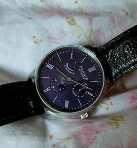 Parnis PA 2122 Watch Blue