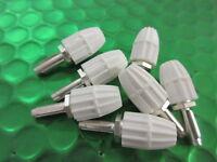 L378A/4, L378A4, BELLING LEE 4mm WHITE PLUG,VINTAGE **3 PER** £2.25each!