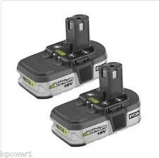 [HOM] [130429061] (2) Ryobi P103 18V One + 1.5 AH Li-on Replacement Battery
