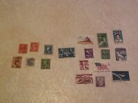 STAMP WASHINGTON 2 Cent1888 1908 1916 Train 1869 Grant 1898 Cleveland 1922 1945