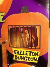New Carve-a-Scene Pumpkin Pro Carving Set Skeleton Dungeon Jack O'Lantern