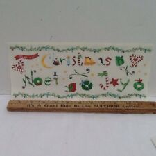 Merry Christmas Noel Joy SCRAPBOOKING Stickers by Autumn Leave