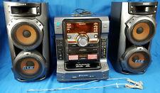 Sony LBT-ZX6 Mute-Ki Dual Cassette Deck 5Disc CD Changer 540W Hi-Fi Shelf System