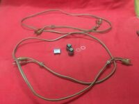 Sanyo RD 8020 Knobs Button Plastic Washers Cables
