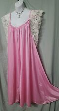 PINK WITH LACE SLEEVES ABOVE ANKLE LENGTH  NIGHTGOWN WOMENS SIZE 4X
