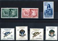 Sellos Fernando Poo año completo 1966 nuevos colonias españolas Spain stamps