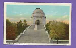 McKINLEY MEMORIAL, CANTON, OHIO VINTAGE PC. 1220