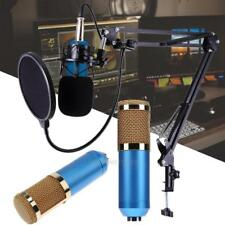 MIC Microphone+ Stand+Mount+Filter Audio Recording For Computer PC Phone Desktop