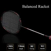 Professional Badminton Carbon Racket With Strong Grip Elastic Non Slip Sweatband