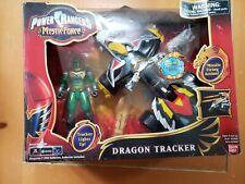 NEW Vintage Power Rangers Mystic Force Dragon Tracker green Ranger  2006 Bandai