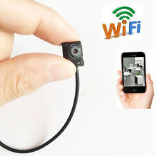 Wireless WIFI IP  DIY Spy Hidden Security Micro Camera small DVR Video record