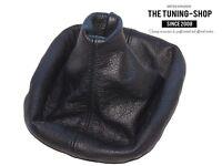 For Bmw 5 Series E34 1988-96 Gear Stick Gaiter Black Genuine Leather