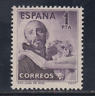 ESPAÑA (1950) NUEVO CON FIJASELLOS MLH SPAIN -EDIFIL 1070 (1 pts) SAN JUAN DIOS