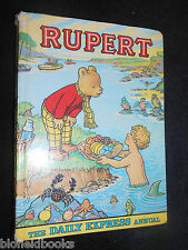The RUPERT ANNUAL 1975 - Vintage Children's Illustrated Stories/Express Cartoons