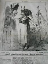 Litho 1867 - Enfant berceau bien sage Allez vous en Monsieur Croquemitaine