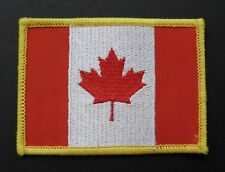 CANADA CANADIAN EMBROIDERED WORLD FLAG EMBLEM PATCH  2.5 X 3.4 INCHES