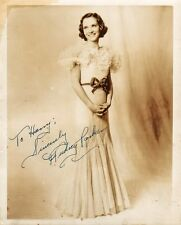AUDREY PARKER - Actress? Singer? Vintage Signed Photo - WHO IS SHE??