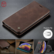 Flip PU Leather Magnetic Wallet Case Stand Cover For iPhone 7 8 Plus XS Max XR X