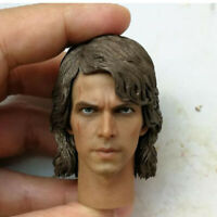 Delicate Painting Hot 1/6 Scale Star Wars:Episode III Anakin Skywalk Head Sculpt