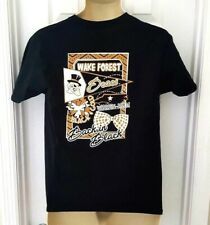 Wake Forest Demon Deacons Youth T Shirt Size Large Girls Front Back Logos New