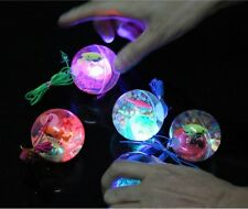 Flashing Light Up LED Color Changing High Bouncing Balls Novelty Sensory Ball