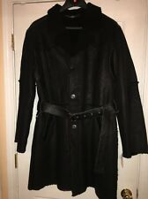 New  Italian Shearling Sheepskin  Fur Long Coat/Jacket Lightweight