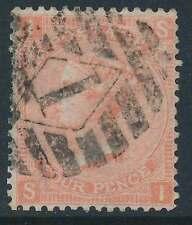 Großbritannien Nr. 24 gestempelt, 4 P. orangerot (19050)