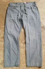Levis 505 34x29 Light Wash Straight Fit Jeans Red Tab Blue Pants