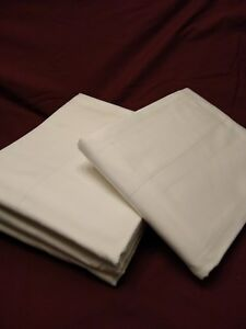 100% Organic cotton By Coyuchi Queen Size Solid Flat Sheet NEW
