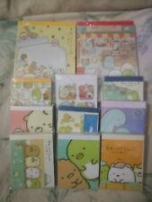 Kawaii Summiko Gurashi large and mini memo pads lot