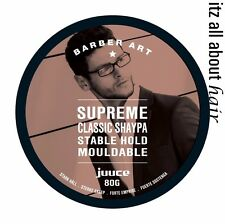 Juuce Supreme Classic Shaypa Stable Hold Mouldable 80g x 1 Barber Art