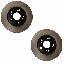 Honda Accord V6; 3.5L 2015 Pair Set of 2 Front Vented Disc Brake Rotors OPparts