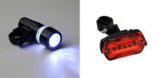 front & rear bike lights set for bicycle mountain road bikes