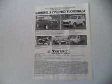 advertising Pubblicità 1982 UAZ 469 B/452/DNEPR MT 10/36 650/LADA NIVA 2121