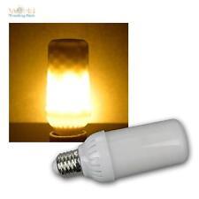 Firelamp LED Lampe In Feueroptik 4w E27 300° mit Schwerkraftsensor