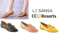 Comfort bow flats soft leather LE SANSA by CC resorts shoes Rosario
