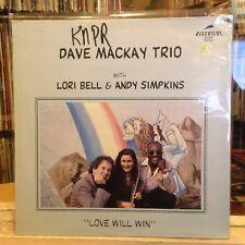 [SOUL/JAZZ]~NM LP~DAVE MACKAY~LORI BELL~ANDY SIMPKINS~Love Will Win~{1983~DISCOV