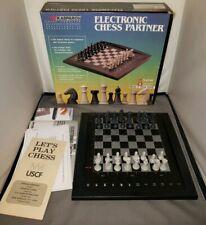 Kasparov Saitek Electronic Chess Partner 1988 Complete in box. Rare Collectible