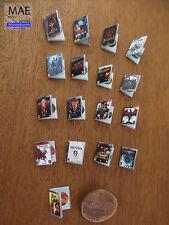 Miniature video game boxes set. Series VII. Dragon Age, Diablo, Resident evil...