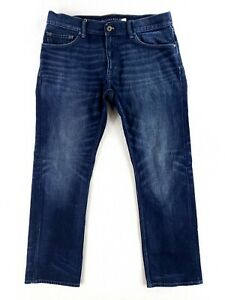 Banana Republic Vintage Straight 34x30 Classic Denim Blue Jeans