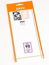 DAVO EASY TRANSPARENT STROKEN MOUNTS T92 (215 x 96) 10 STK/PCS