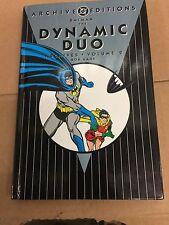 UNREAD DC ARCHIVES BATMAN THE DYNAMIC DUO  VOLUME 2  HARDCOVER