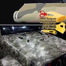 "60"" x 60"" Army Camo Camouflage Desert Vinyl Film Wrap Sticker Air Bubble Free"