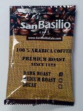 San Basilio Dark Roast Whole Bean Arabica Coffee 1 Lb. in 2 oz. Bags 8 pack