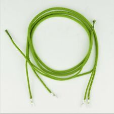 Vintage Antique Cloth Covered Receiver Cord - Green - Spade to Spade - SKU-30007
