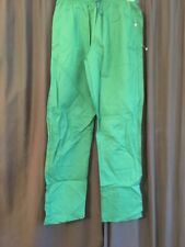 NWT 2002 RUSSELL ATHLETIC TRACK & FIELD GREEN PANTS SNAP BUTTON  MEN XL 40 x 33