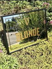 Guinness Blonde American Lager Beer Bar Mirror Man Cave Pub